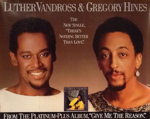 Luther Vandross Gregory Hines 1986 Poster