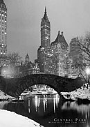 Central Park Winter 1961 Poster